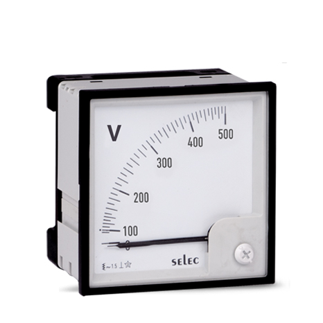 SELEC voltmeter analog AM-V
